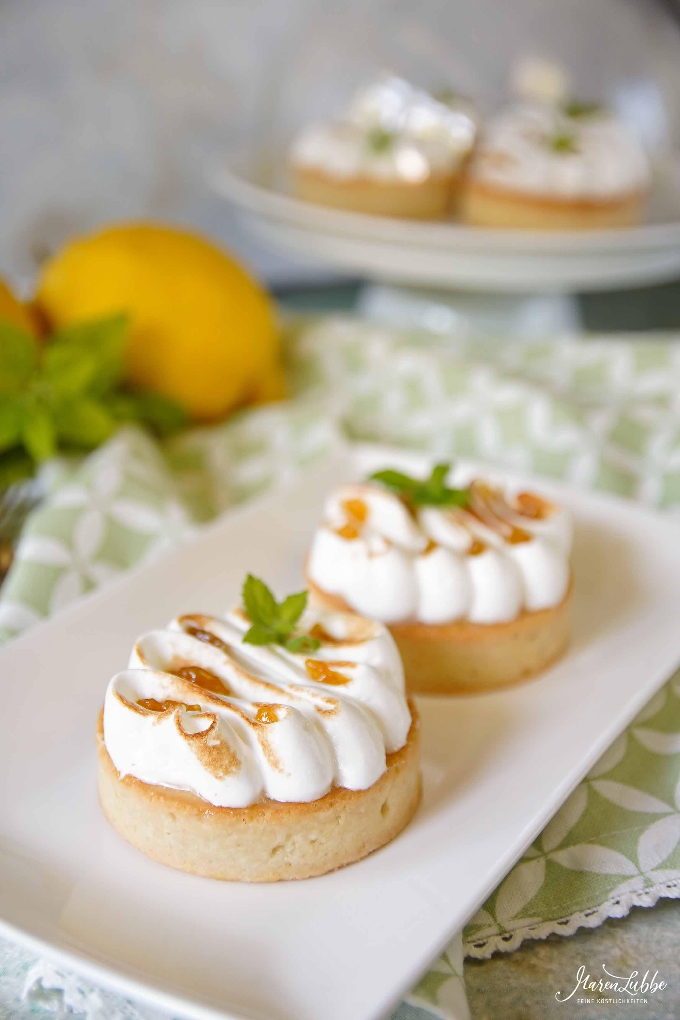 Tartelettes au citron - Zitronentartelettes