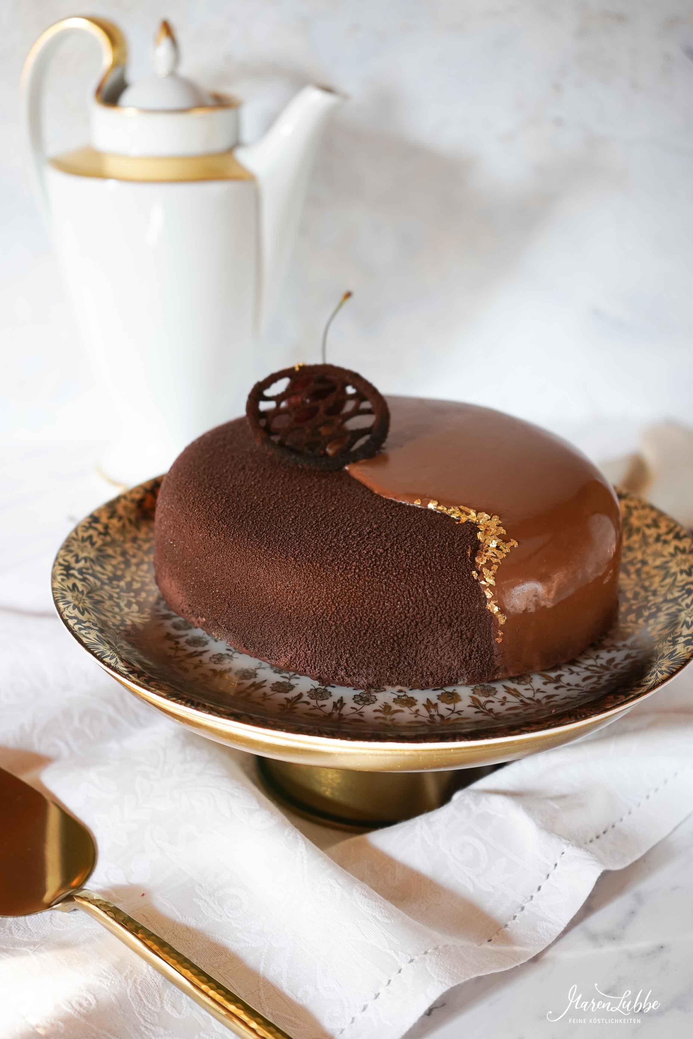 Kirsch-Dulcey Schokoladentorte / Maren Lubbe-Feine Köstlichkeiten