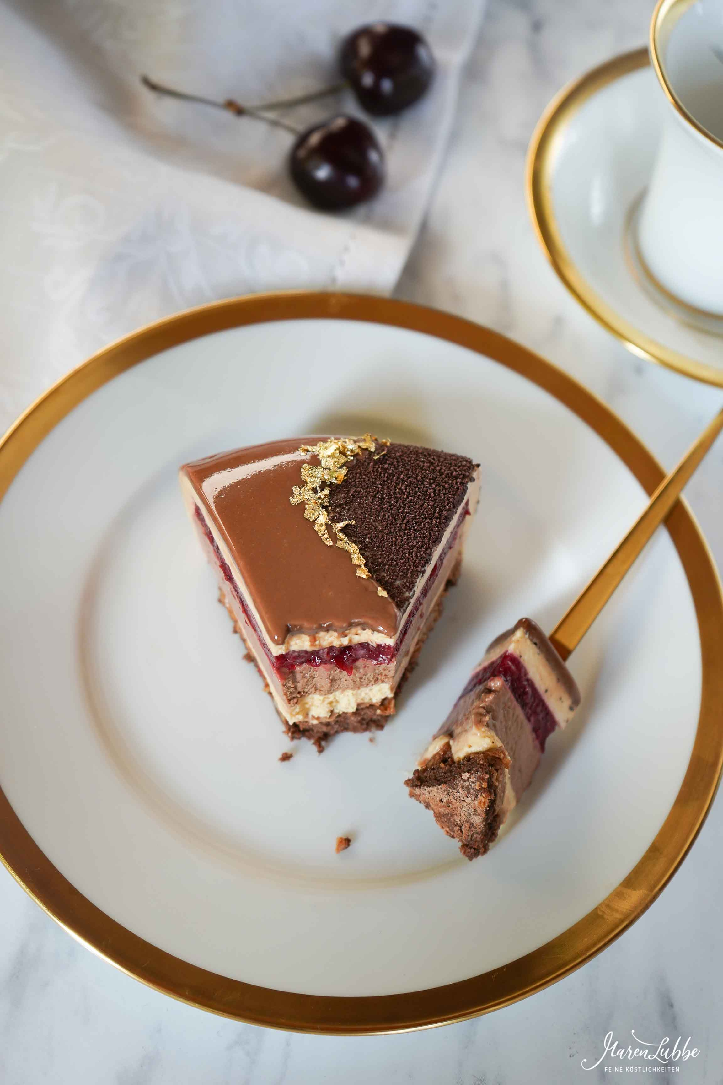 Kirsch-Dulcey Schokoladentorte