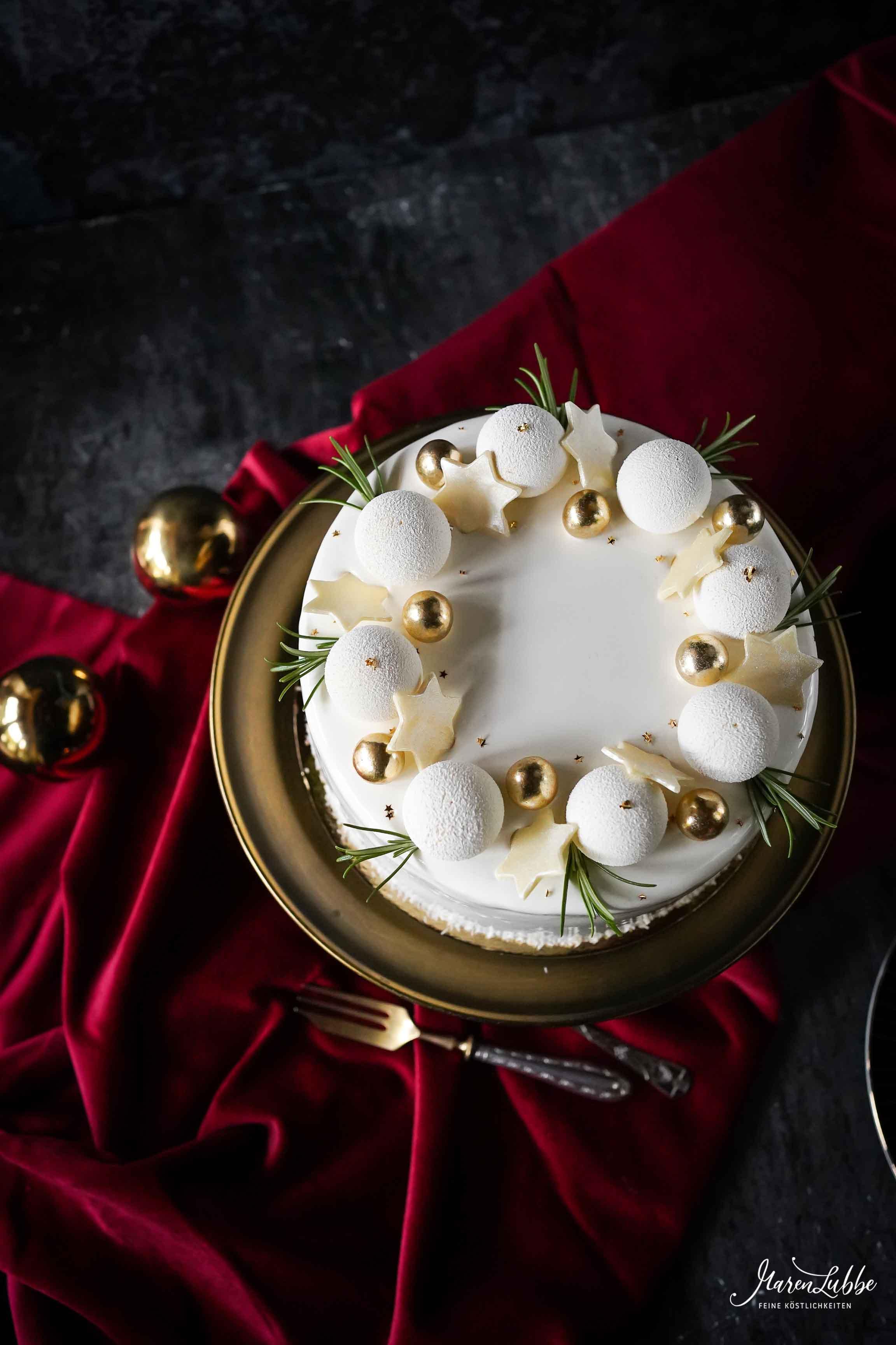Yuzu-Schokoladentorte mit Himbeere-/ Maren Lubbe-Feine Köstlichkeiten