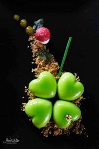 Glücksklee Desserttörtchen - Kalamansi trifft Macadamia | Maren Lubbe-Feine Köstlichkeiten