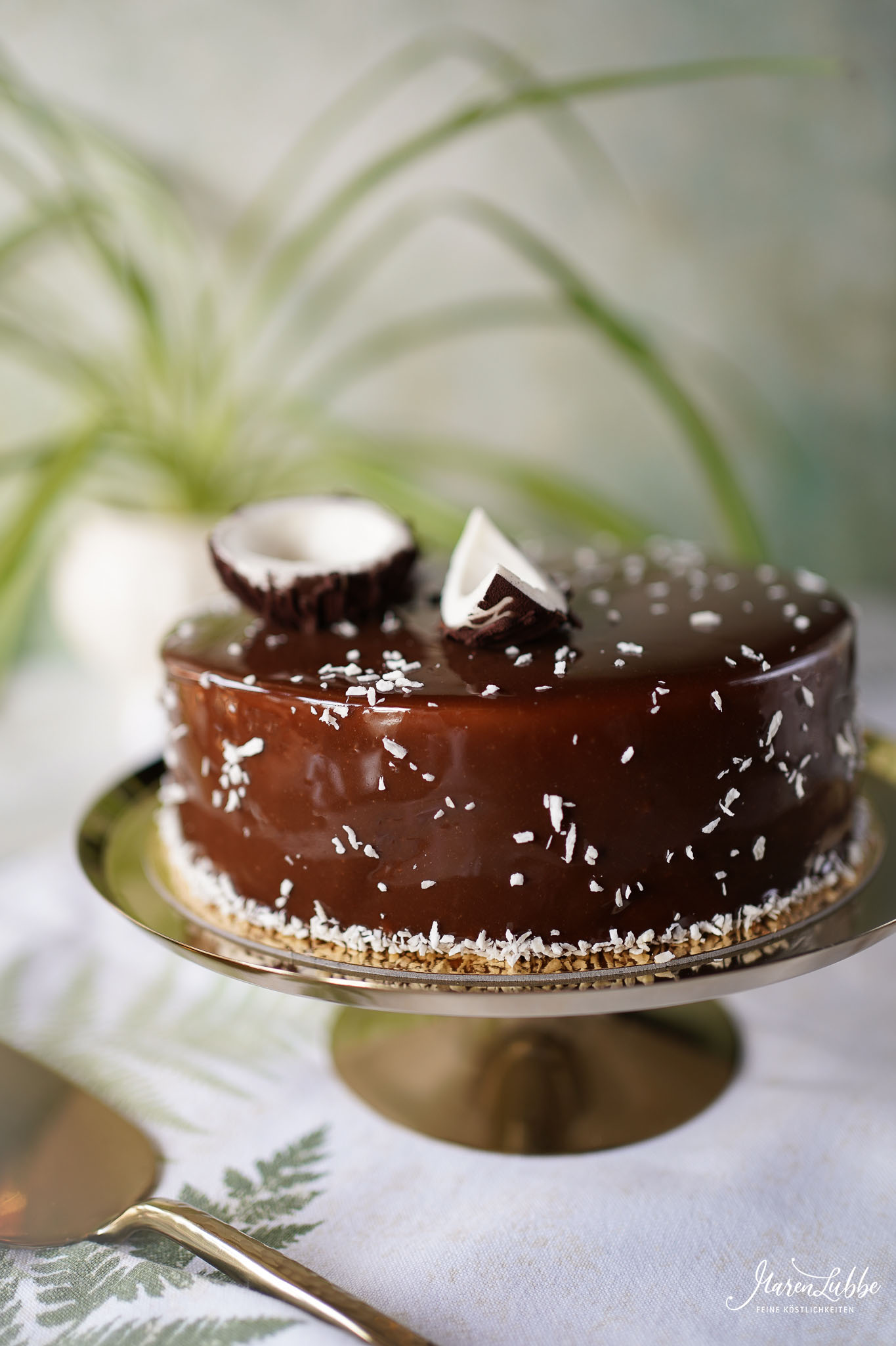CARAÏBES - Kokos-Schokoladen Torte nach Yann Couvreur