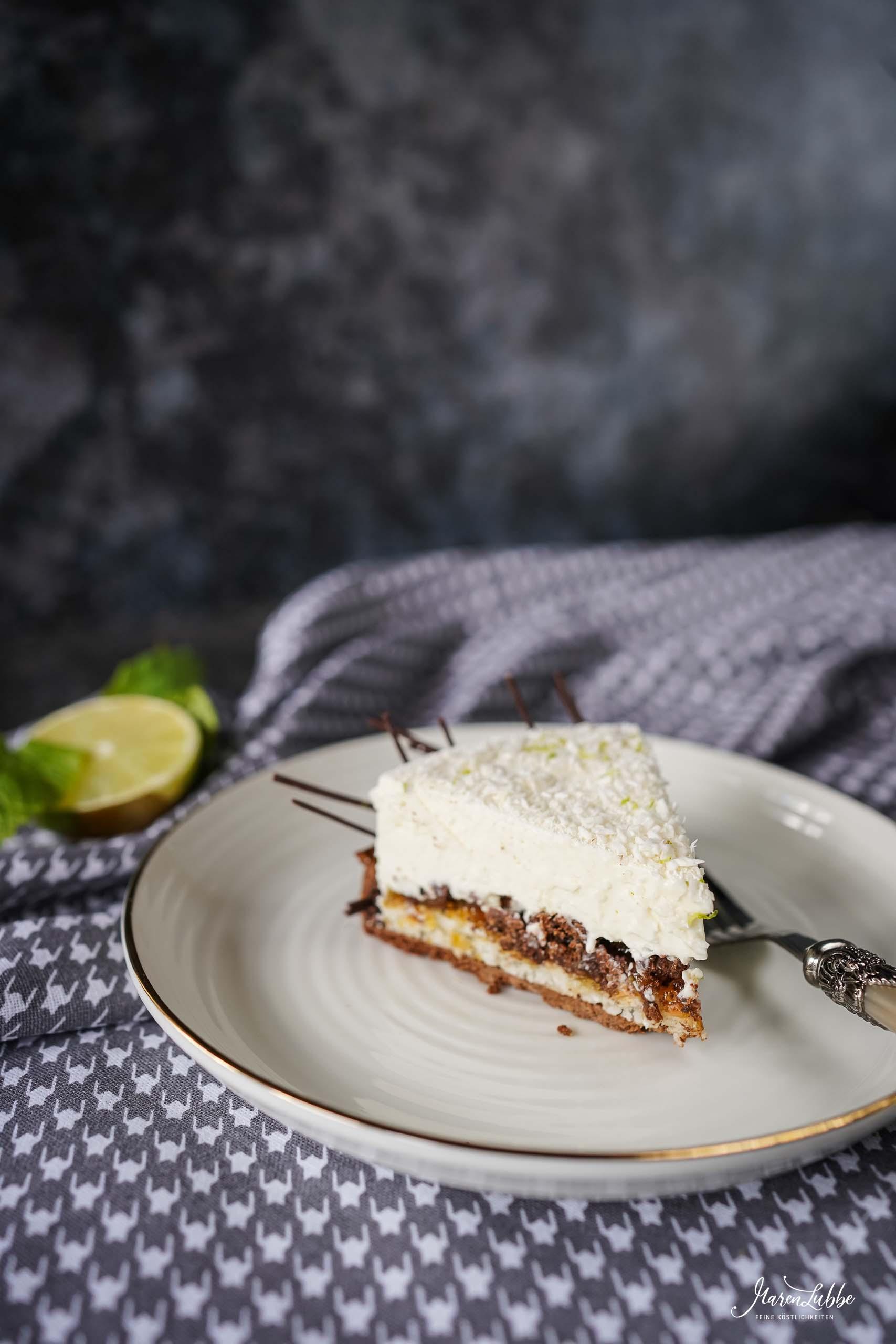 """""""Malibu"""" Torte"""