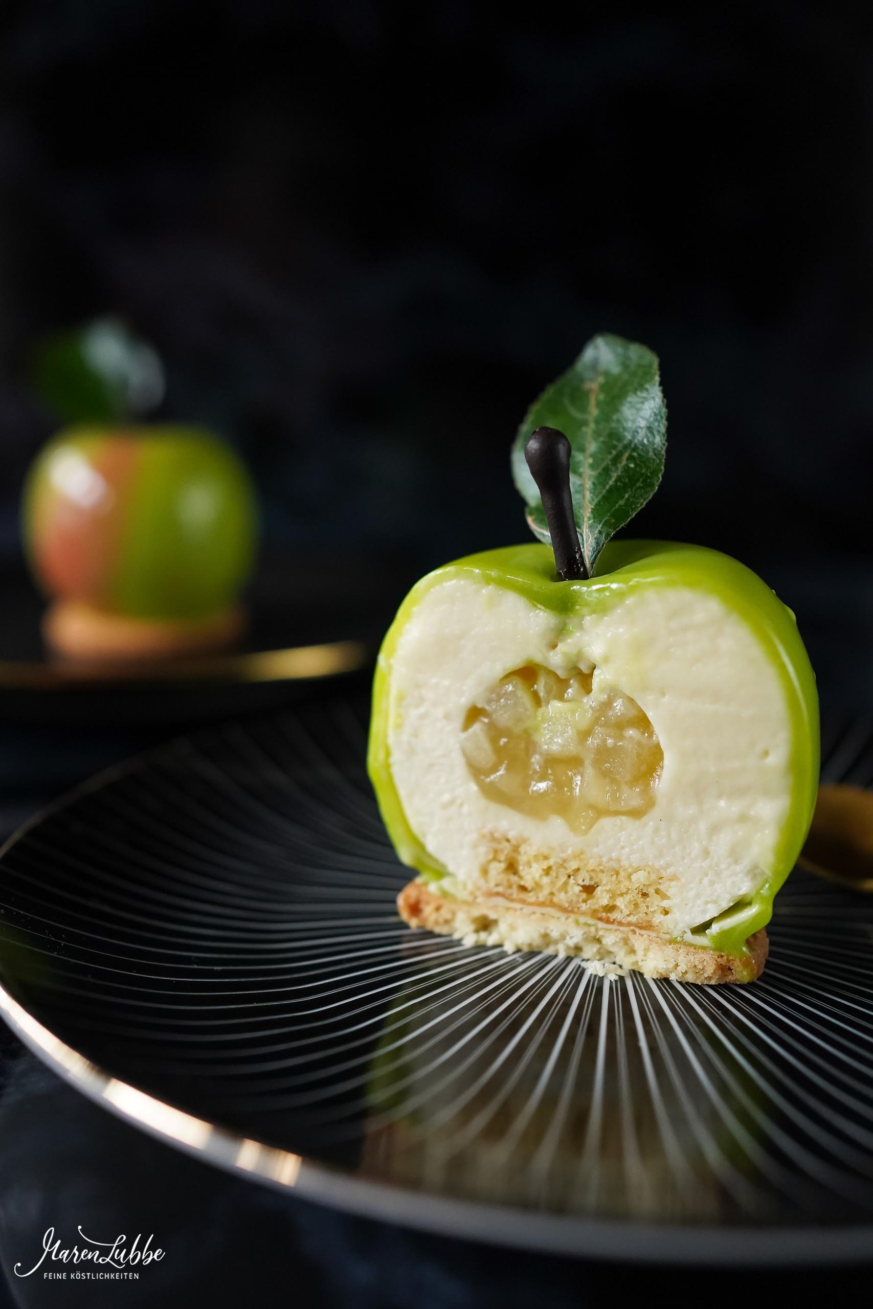Green Apple Desserttörtchen