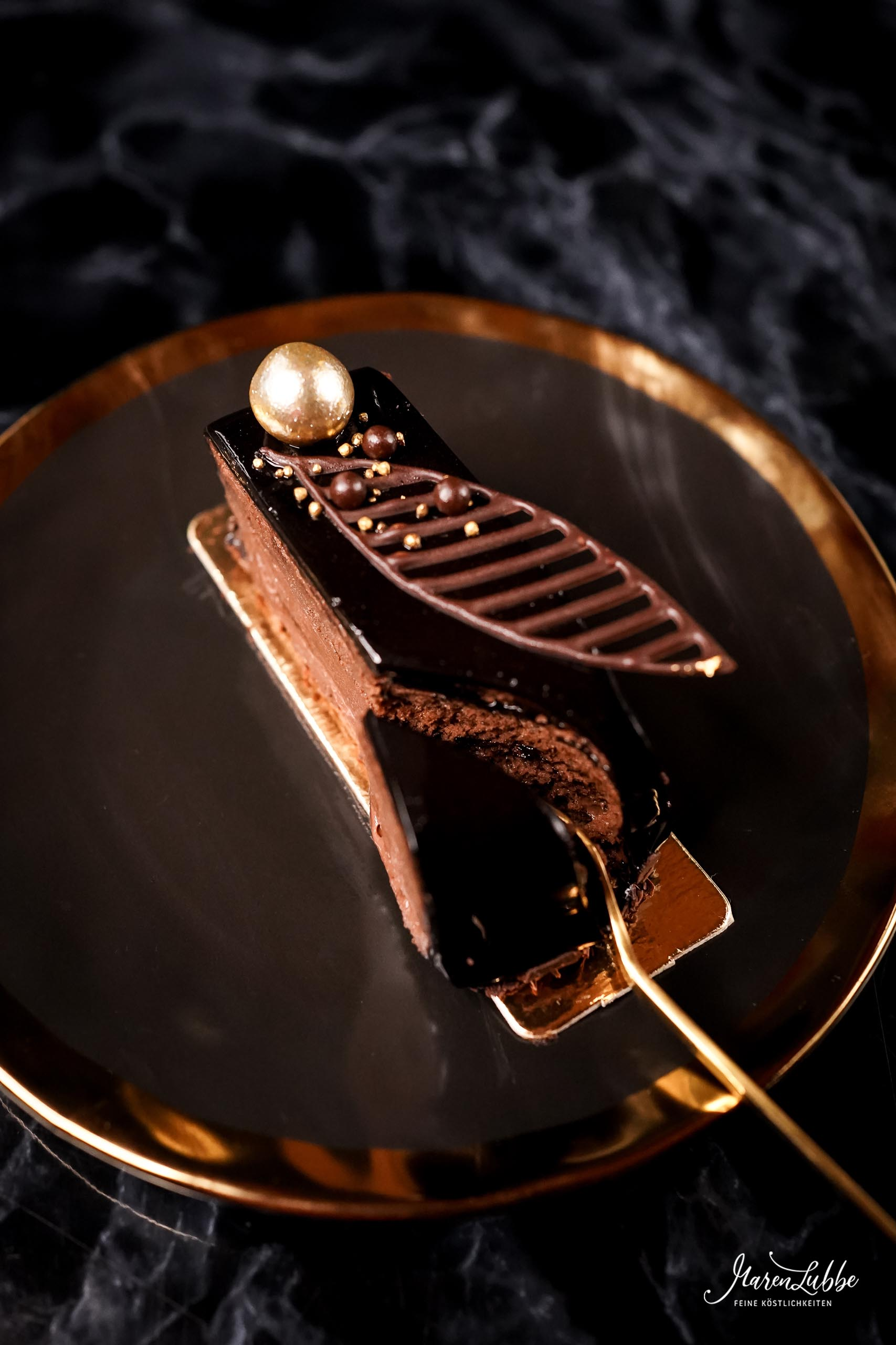 Élegance - Schokoladenschnitten