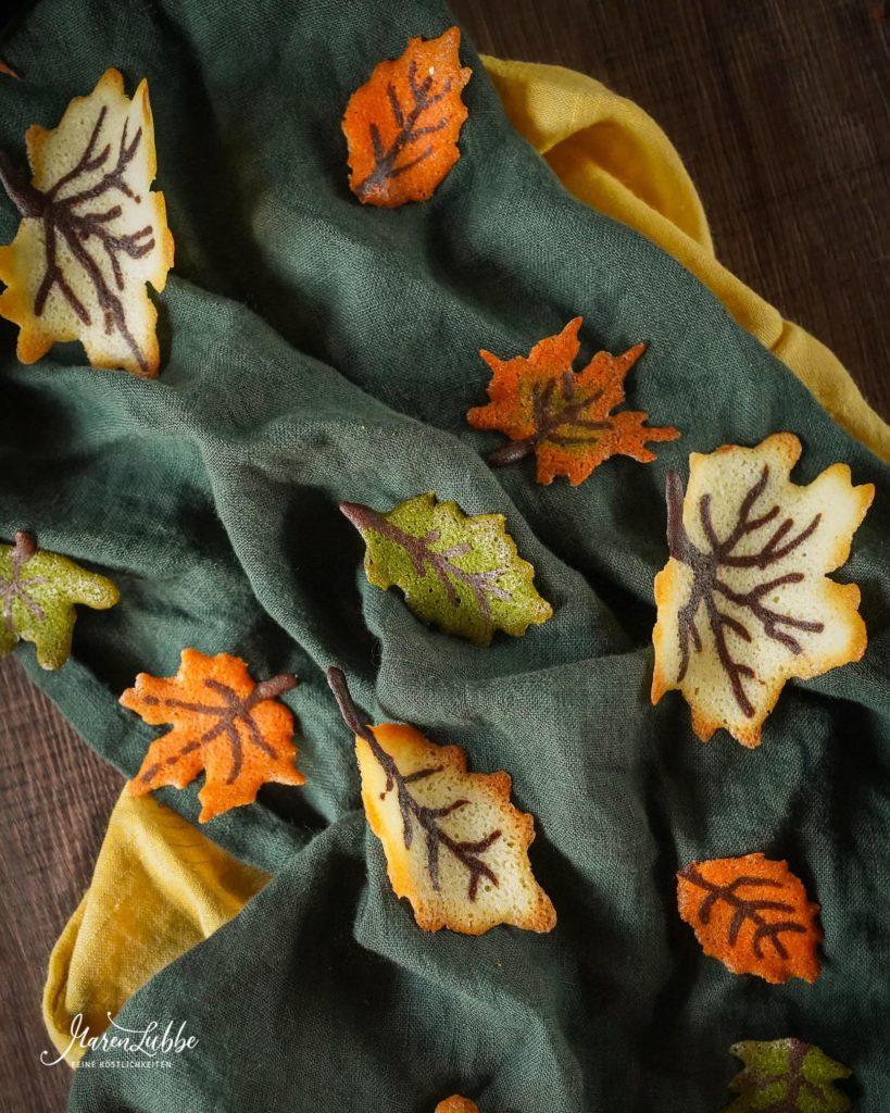 Herbstblatt Tuiles