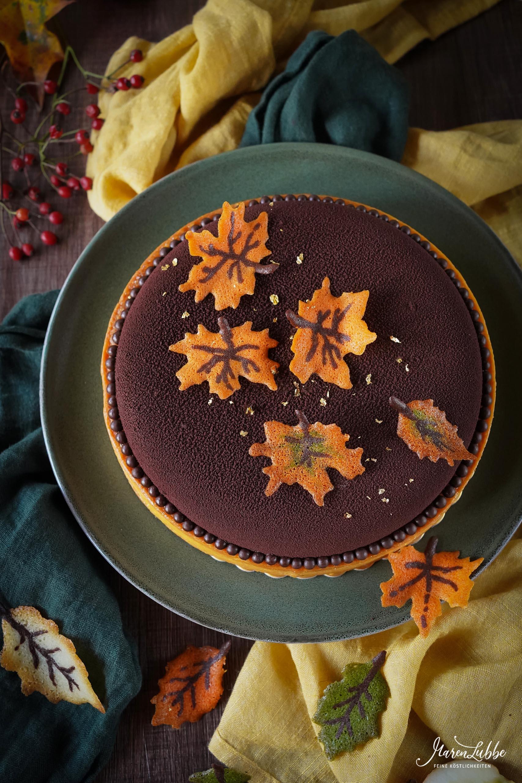 Herbsttarte - Apfel, Quitte & Marone