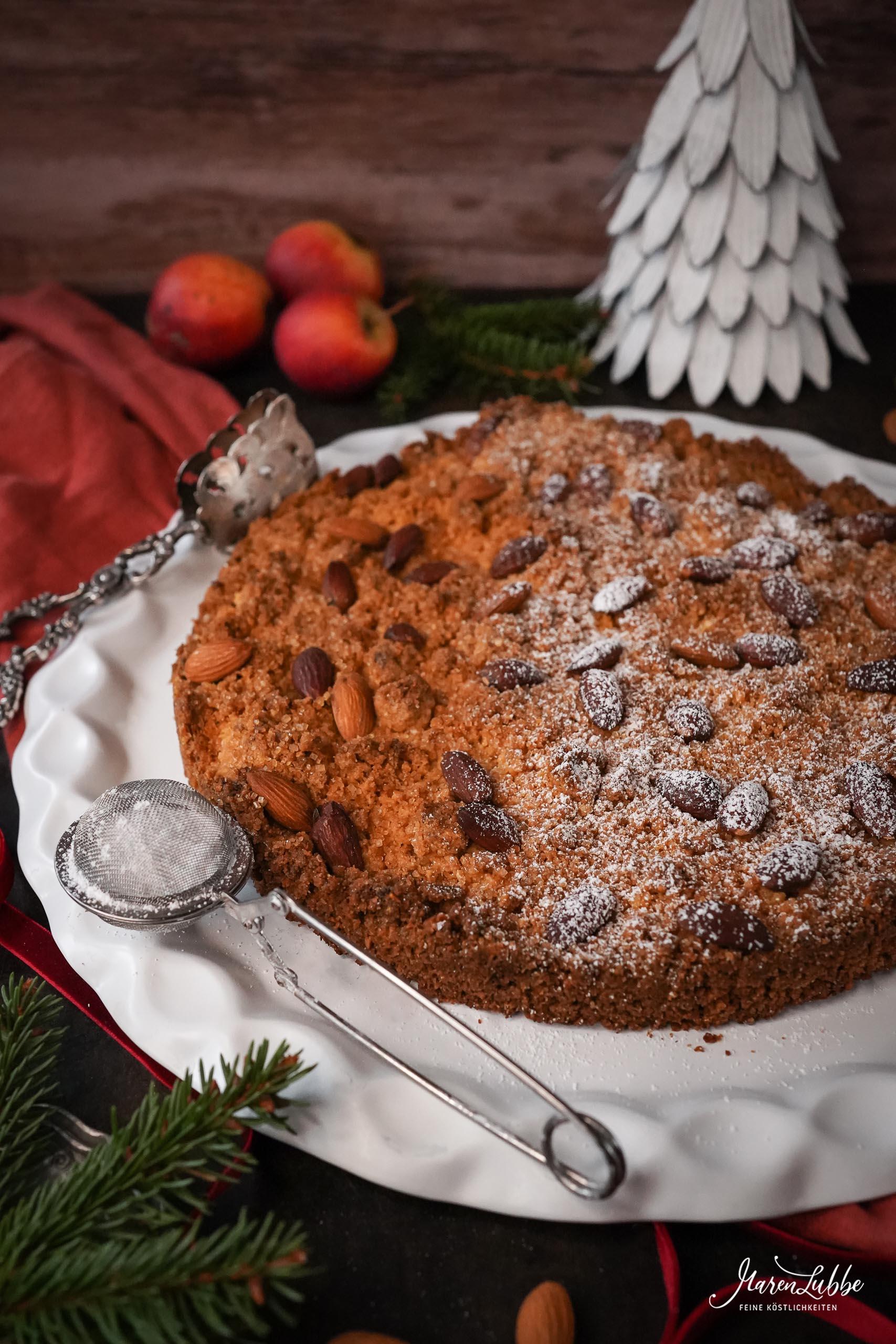 Mürber Mandelkuchen aus Mantova