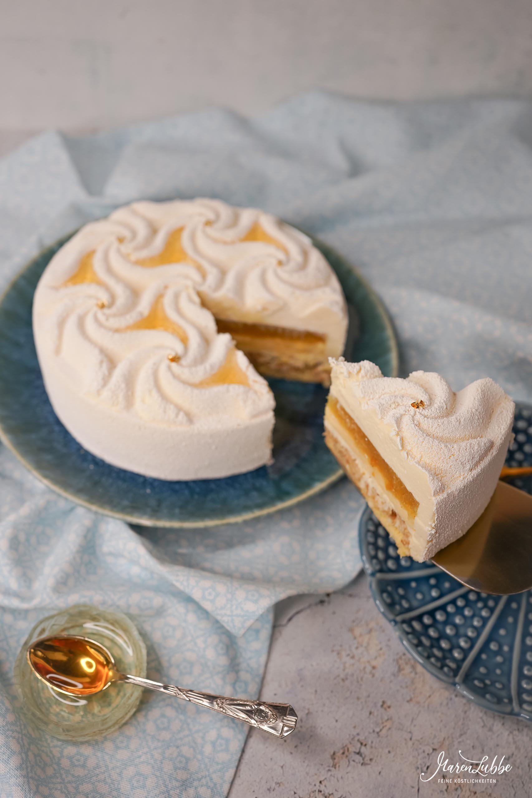 Exotic Honey Torte