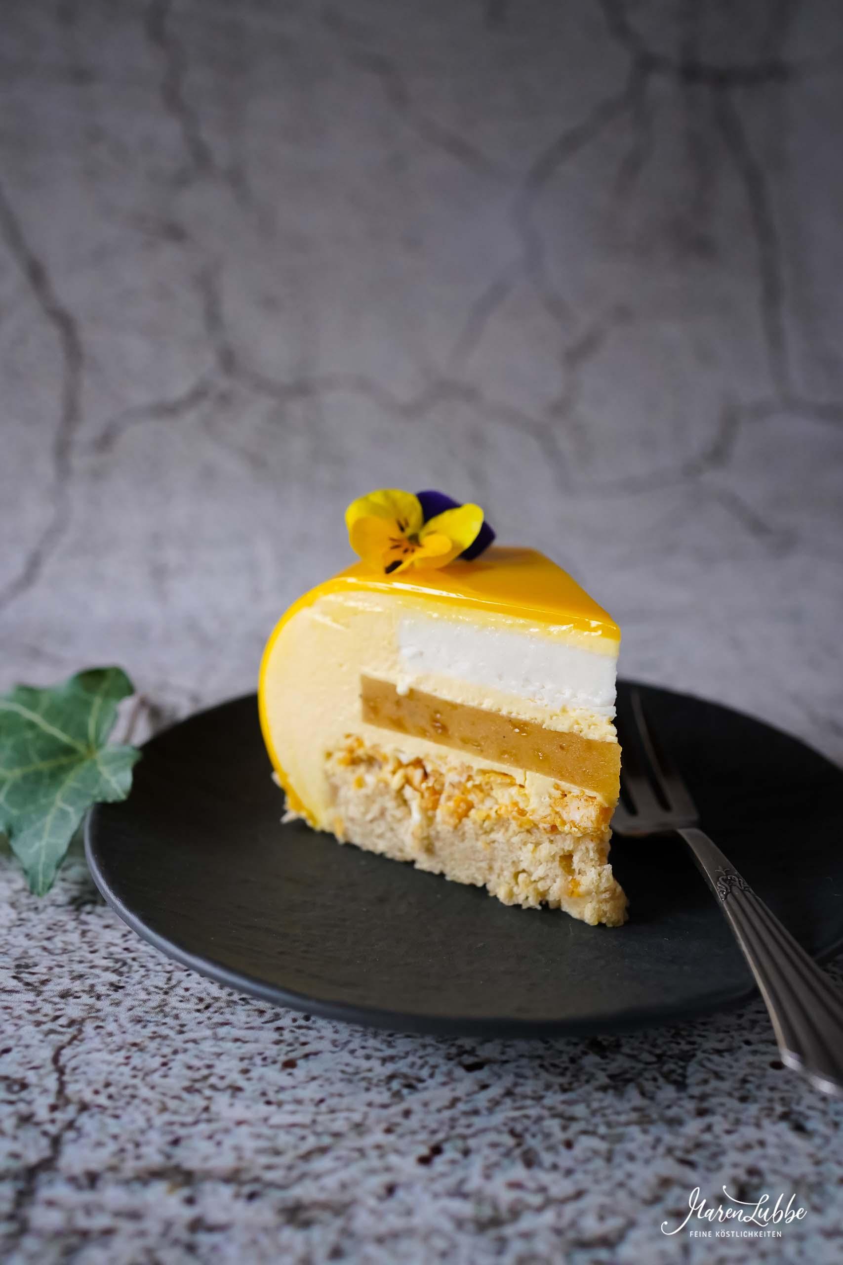Karibika Torte | Maracuja-Banane-Kokos