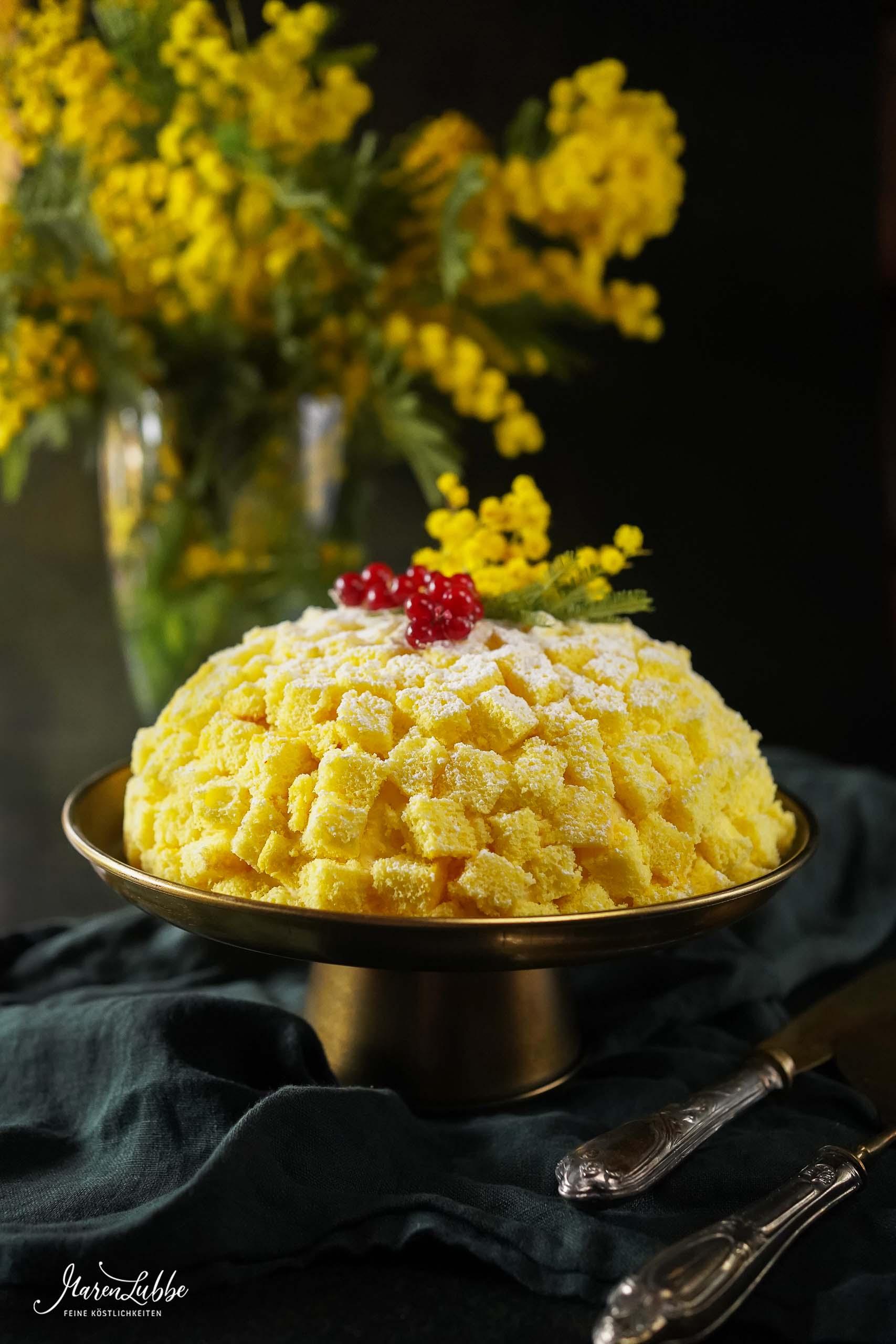 Italienische Torta Mimosa