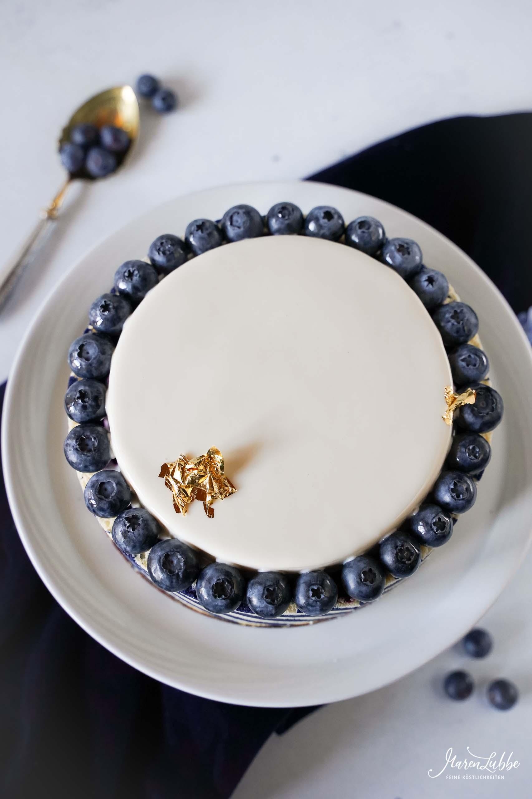 Blueberry Sky Torte