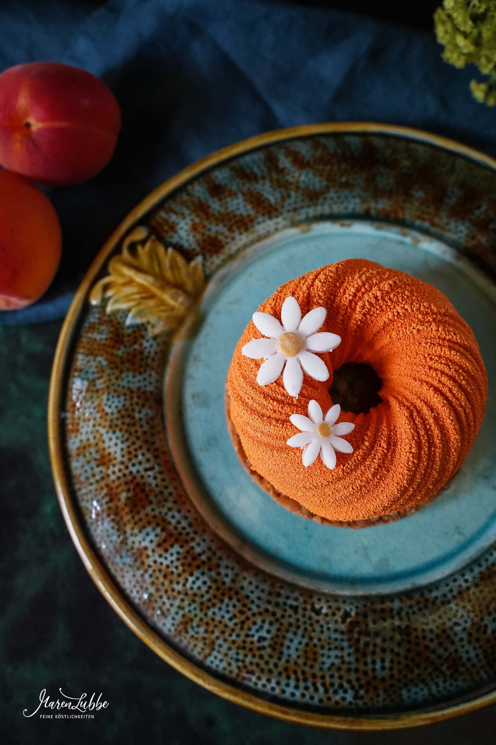 Apricot Dulcey Törtchen
